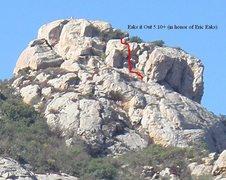 Rock Climbing Photo: Eaks it Out