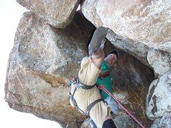 Rock Climbing Photo: Having another go...
