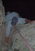 Rock Climbing Photo: Fisting through the crux on TR. Last day of summer...