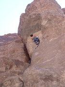 Rock Climbing Photo: Let the choss begin....