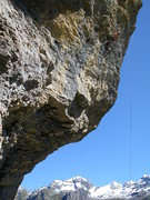 Rock Climbing Photo: Mathijs K powering through the magnificent third p...