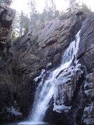 Rock Climbing Photo: Waterfall 2