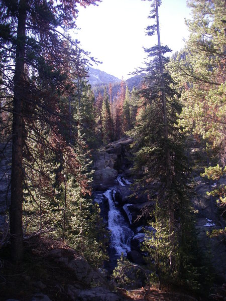 Rock Climbing Photo: Waterfall 3
