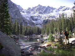 Rock Climbing Photo: Lake