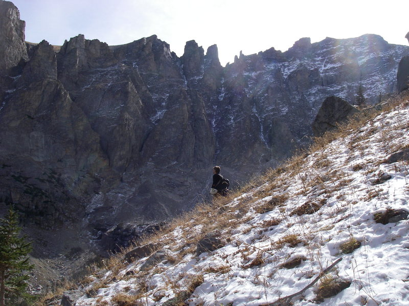 Rock Climbing Photo: Mtn gaze