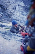 Rock Climbing Photo: Belay station D7. Photo Buc Taylor.
