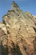 Rock Climbing Photo: Bigger Bagger Buttress on Pikes Peak.