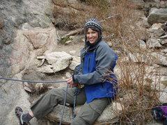 "Rock Climbing Photo: ""Queen of Belay""!"