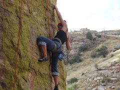 Rock Climbing Photo: Chels making it look easy like usual