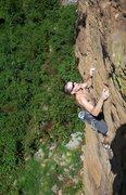 Rock Climbing Photo: Spartacus 5.11+