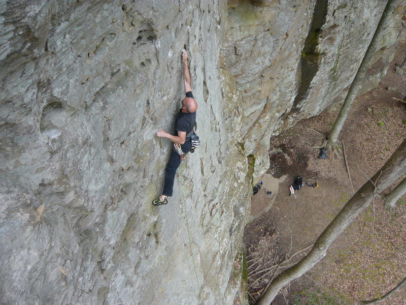 Rock Climbing Photo: Johnny B. Good.  RRG, KY.