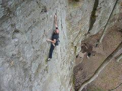 Rock Climbing Photo: Johnny B. Good.  RRG, KY.
