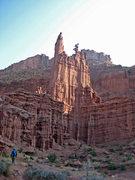 Rock Climbing Photo: Hiking to Ancient Art