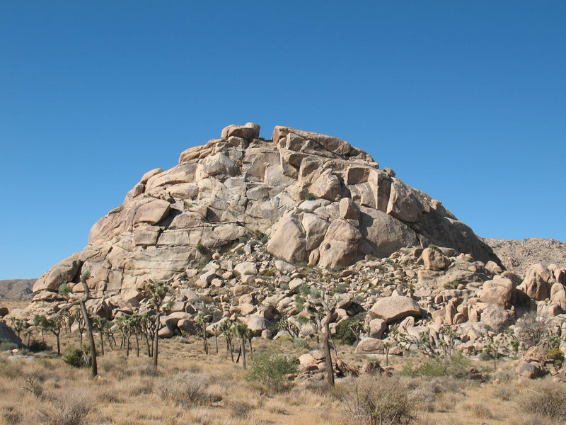 Jimmy Cliff (East Face), Joshua Tree NP