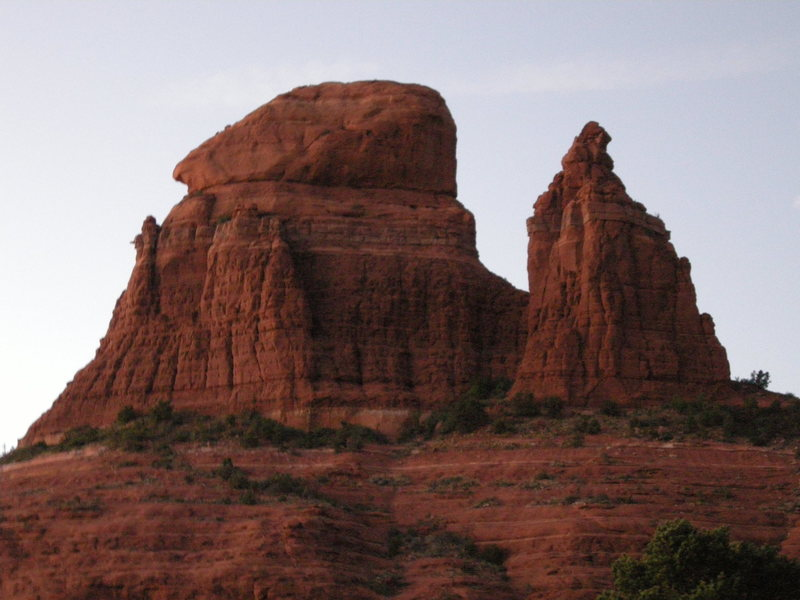 Rock Climbing Photo: Pointed Dome on the left and Queen Victoria on the...