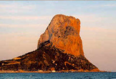 Rock Climbing Photo: view from Calpe