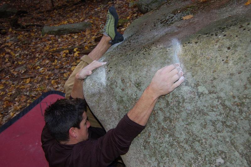 Rock Climbing Photo: Ian on Magnificent Bastard