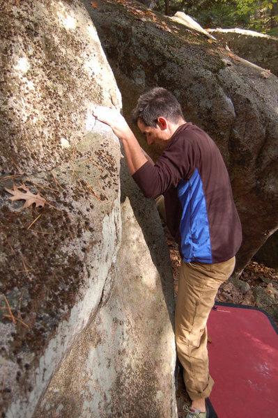 Rock Climbing Photo: Now he's a hippie.