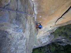 Rock Climbing Photo: Every pitch on this climb is outstanding.  This is...