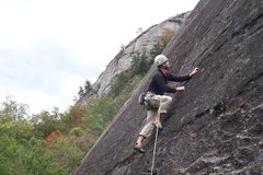 Rock Climbing Photo: First pitch.  Photo compliments of Tim S.