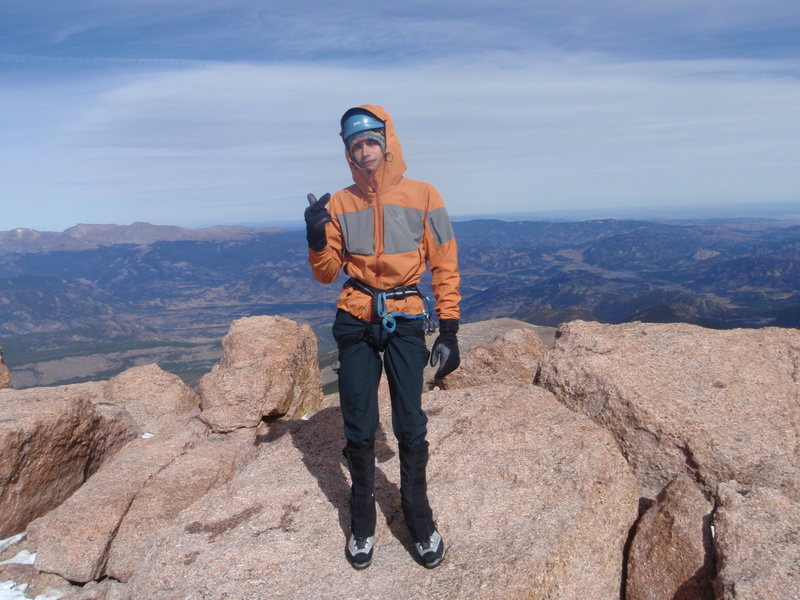 Rock Climbing Photo: longs peak summit