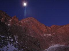 Rock Climbing Photo: the diamond