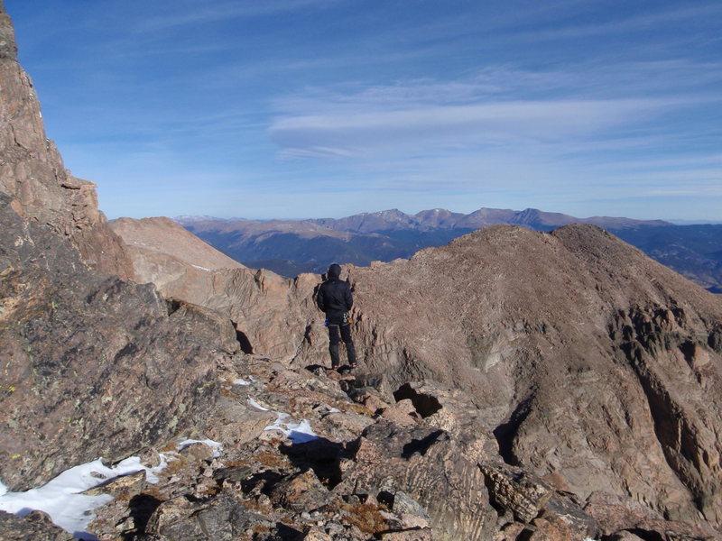 Rock Climbing Photo: The introspective mountaineer...