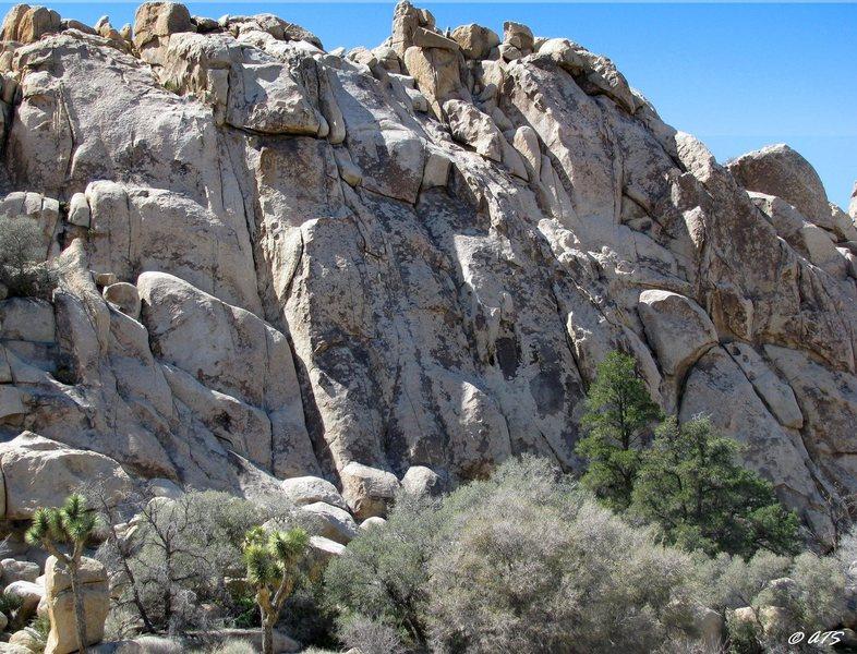 Rock Climbing Photo: Playhouse Rock
