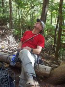 Rock Climbing Photo: Brad Killough on Belay.