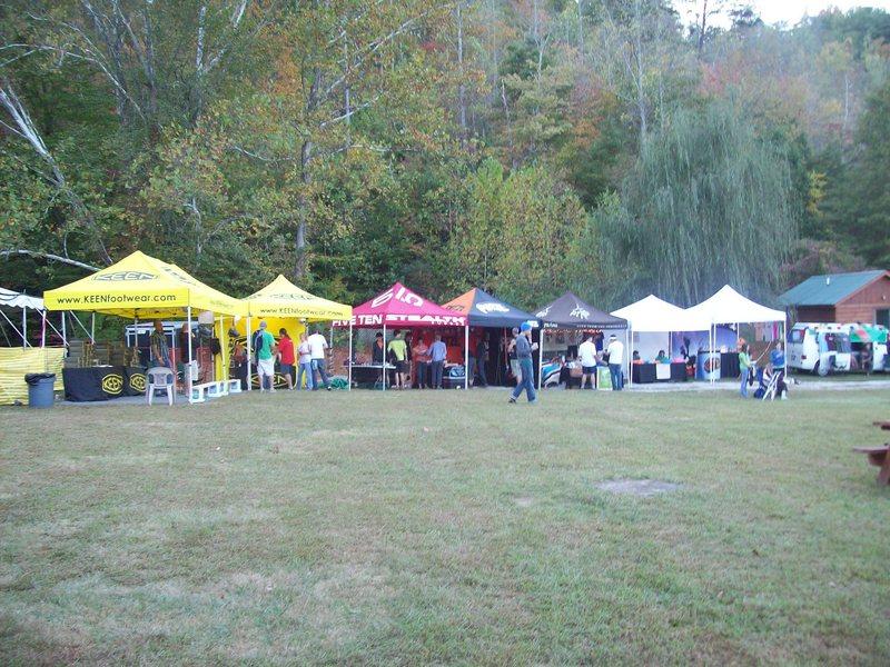 Vendors at roctoberfest 08