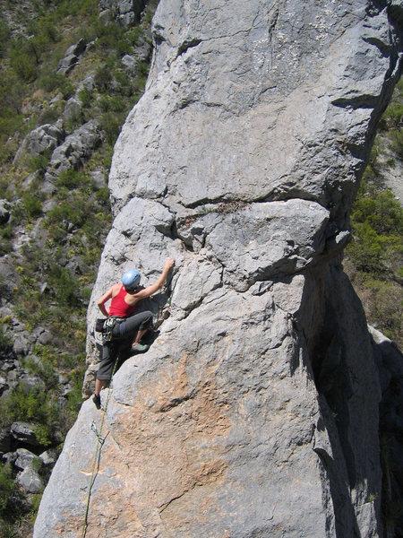 Rock Climbing Photo: Agua Cielo Rey - El Potrero Chico