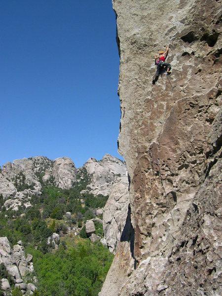 Rock Climbing Photo: Tribal Boundaries - City of Rocks, Idaho