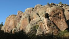 Rock Climbing Photo: Penitente Canyon on a gorgeous October day.