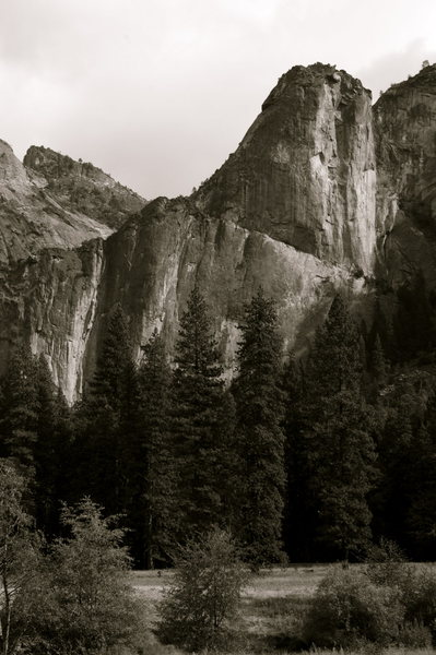 Rock Climbing Photo: Leaning tower from across the valley