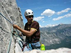 Rock Climbing Photo: pitch 2 belay