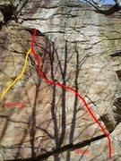 Rock Climbing Photo: Spider, Chatfield Hollow