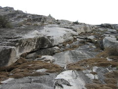 Rock Climbing Photo: 18-October-2008: Right Side (5.7) at Parkline Slab...
