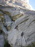 Rock Climbing Photo: Yeah that looks like fun!  Hoard's of people on th...