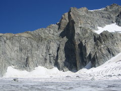 Rock Climbing Photo: The Galengrat, from the Sidelen glacier.  The Gale...