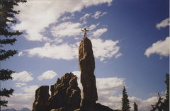 Rock Climbing Photo: The best time to get a photo would be in the early...