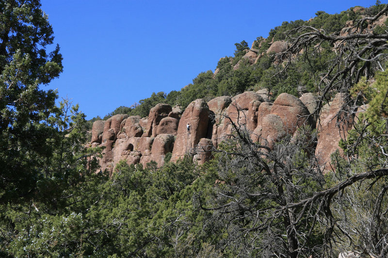 Rock Climbing Photo: Pocket Rocks from the approach trail.