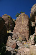Rock Climbing Photo: Sabie's Eight is the line on the right, The Love R...