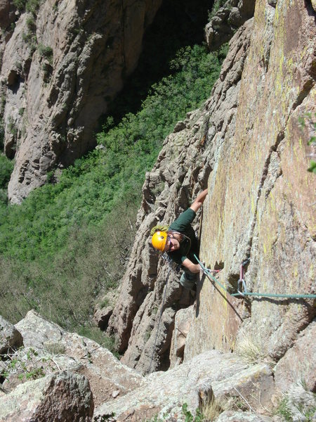 Marc Ripperger following the last pitch of Brother Wolf.