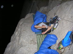 Rock Climbing Photo: I don't wanna get up!  Heart ledge