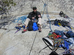 Rock Climbing Photo: Me on the summit of El Cap