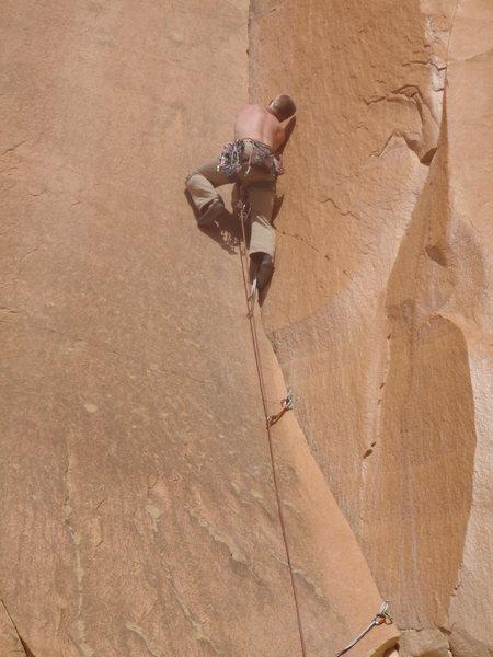 Rock Climbing Photo: Skyler