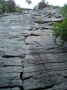 Rock Climbing Photo: Something Interesting