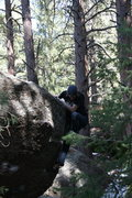 Rock Climbing Photo: Distance overhang.
