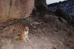 Rock Climbing Photo: Good spot to tie up the dog by chain rock.