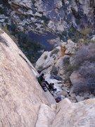 Rock Climbing Photo: The start of Chuckawalla 21; a fun climb in a beau...